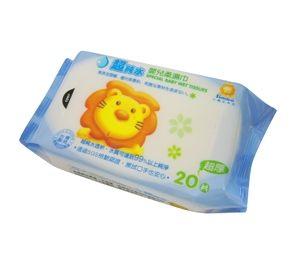 小獅王辛巴 嬰兒潔膚濕巾 20抽【德芳保健藥妝】