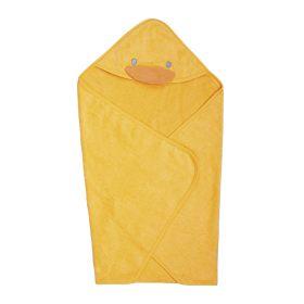 黃色小鴨 毛巾布包巾【德芳保健藥妝】