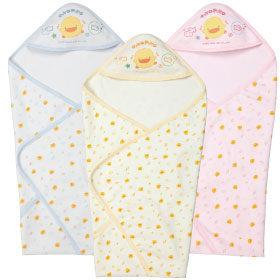 黃色小鴨 健康布夏季包巾【德芳保健藥妝】樣式顏色隨機出貨