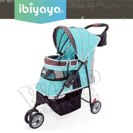 《IBIYAYA 依比呀呀》新波點 寵物三輪車/推車(FS1101S)