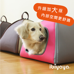 IBIYAYA依比呀呀-加大版三角寵物窩FB1206-粉
