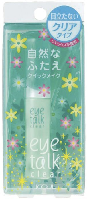 KOJI eye talk 清透雙眼皮膠 27G (藍盒) ☆真愛香水★ 另有MELODY款