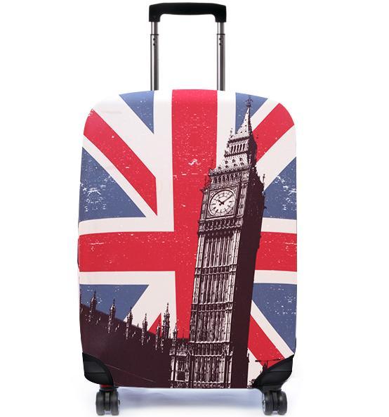 彈性行李箱套/出國旅遊/自助旅行/行李包膜/行李套 Bibelib法國設計品牌-英國大笨鐘