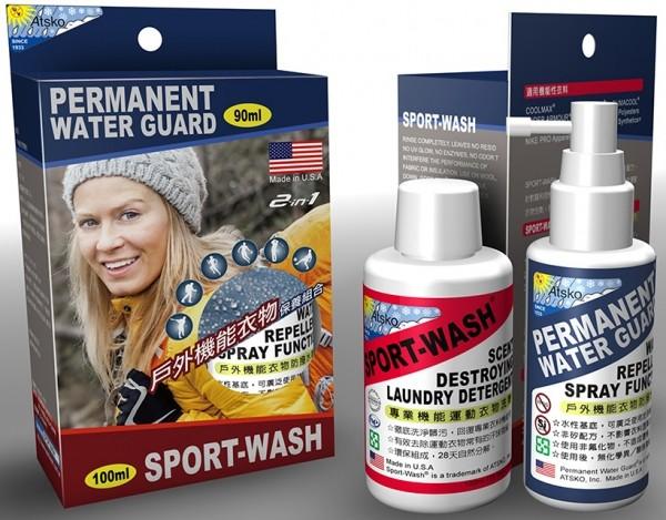 ├登山樂┤美國 SPORT-WASH美國 SPORT-WASH戶外機能衣物保養組合#1340