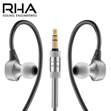 RHA MA750 頂級隔音入耳式耳機 高抗鏽之不鏽鋼機身 特殊隔音設計 三年保固服務