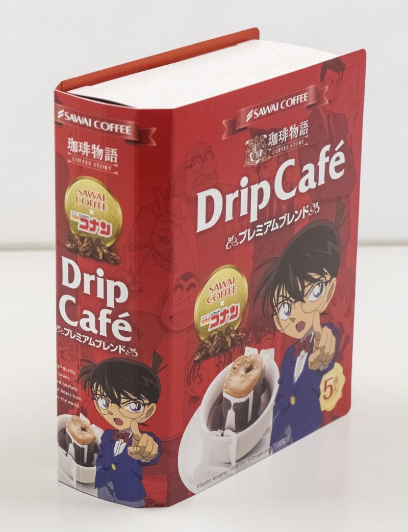 澤井咖啡-全台首賣 名偵探柯南咖啡-歐洲經典5入