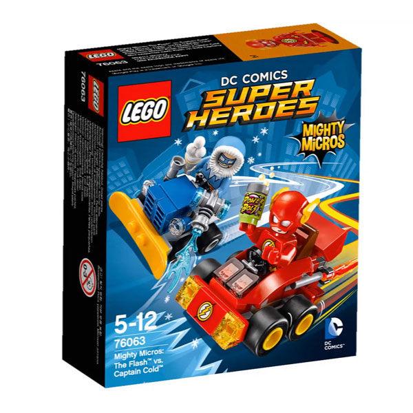 【LEGO 樂高積木】SuperHeros系列-閃電俠vs.冷凍隊長 LT-76063