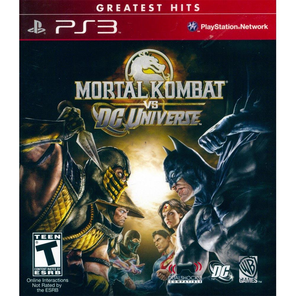 PS3 真人快打 VS DC漫畫英雄 英文美版 Mortal Kombat vs. DC Universe