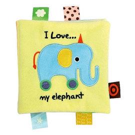 *babygo*奇智奇思 K's Kids 布書-我愛我的大象