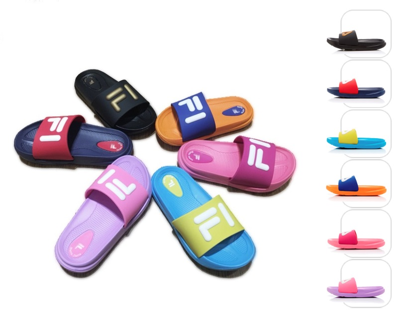 FILA兒童拖鞋