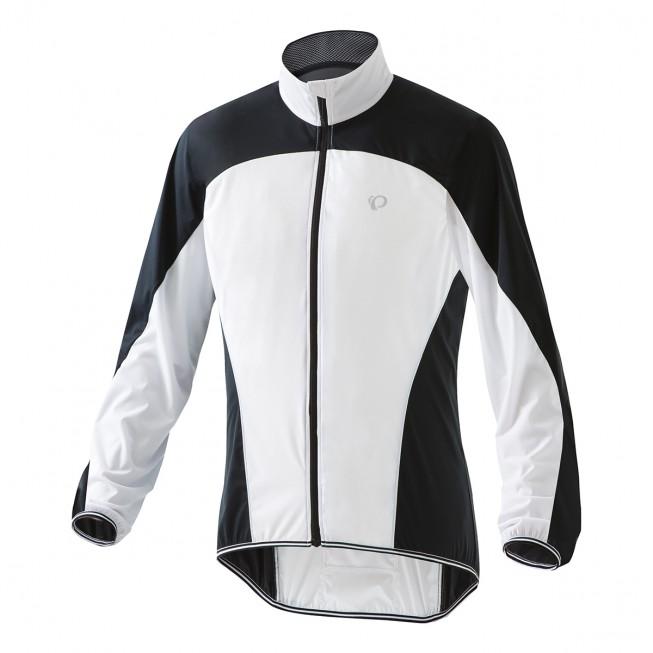 【PEARL iZUMi】PI-2300輕量口袋型風衣(男款 黑白色)