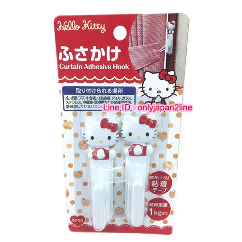 【真愛日本】161103000362入掛勾-KT立體坐姿白  三麗鷗 Hello Kitty 凱蒂貓 日本限定 精品百貨 日本帶回