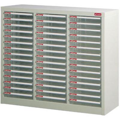 【文具通】A4-345P[450]落地三排型資料櫃 A0680050