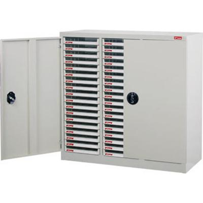 【文具通】A4X-354PD加門型資料櫃 A0680056