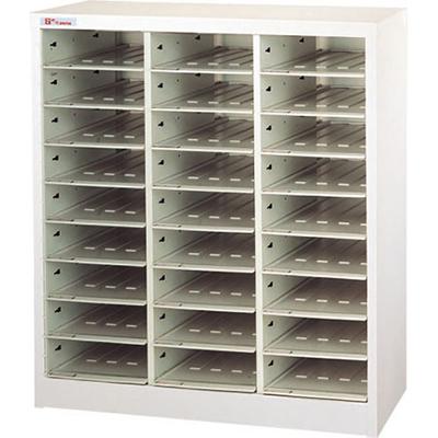 【文具通】SA4-327H落地三排型資料櫃 A0680163