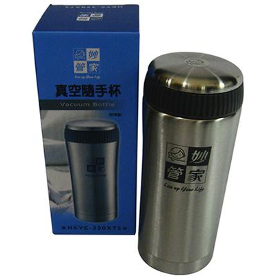 【文具通】妙管家不銹鋼隨手保溫瓶350cc BO010011
