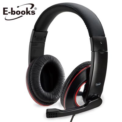 【文具通】E-books S1 爵色重低音單插孔耳機麥克風 E-EPA024
