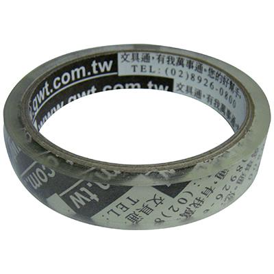 【文具通】文具通3/4透明膠帶19mmx40Y 無袋 E1030390