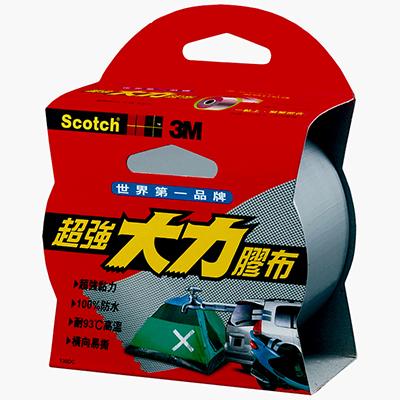 【文具通】3M Scotch 131 黑色超強大力膠帶 48mmx3M E1030459 E1030459