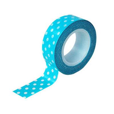 【文具通】力大 washido 3/4和紙膠帶-藍水玉 12503-1 藍 E1030511