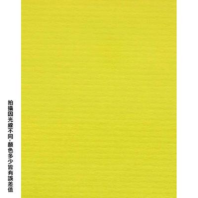 【文具通】全開粉彩紙26 正黃 P1330028