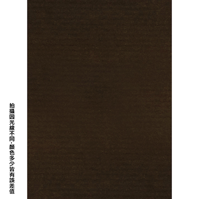 【文具通】全開粉彩紙70 咖啡色 P1330072