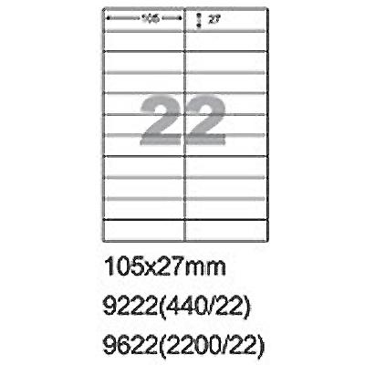 【文具通】9622自粘性影印紙A4 100入 P1410519