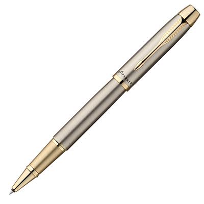 【文具通】PARKER 派克 PARKER IM 經典系列-鋼桿金夾鋼珠筆 PK-P0800110