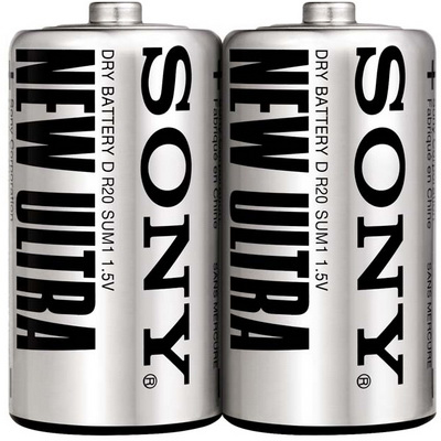 【文具通】SONY 1號環保電池[2入] Q2010136