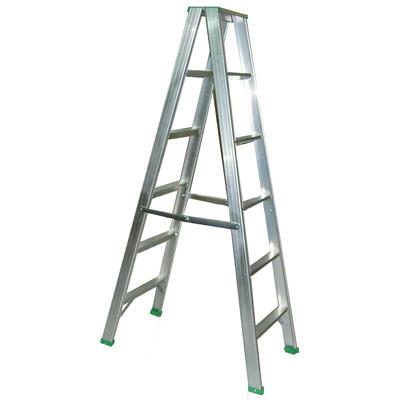 【文具通】5尺 約150cm 四層 四階 鋁梯 T3010156