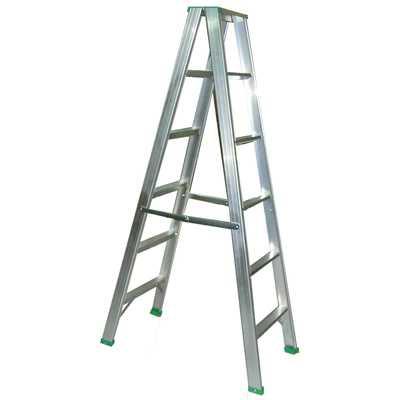 【文具通】7尺 約210cm 六層 六階 鋁梯 1.5厚 承載約70公斤 T3010238