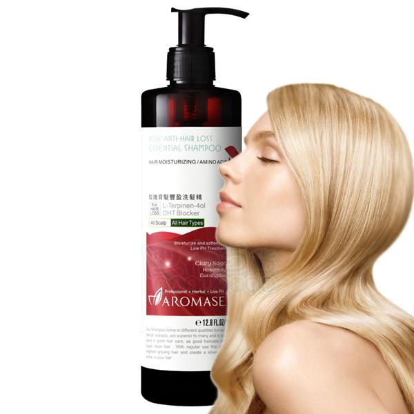 Aromase 艾瑪絲 玫瑰育髮豐盈洗髮精(女性專用 350ml)【巴布百貨】