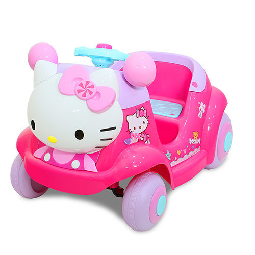 【兒童電動車】Hello Kitty RIDE-ON KT電動車 W402QG3 (可遙控)