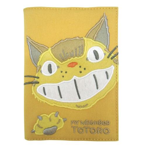 【真愛日本】1608280000917手帳本-電繡貓公車黃  龍貓 TOTORO 豆豆龍 年曆 日曆