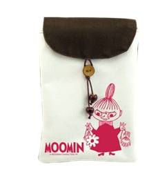 Moomin嚕嚕米正版授權 - 手機袋:【Little My 】
