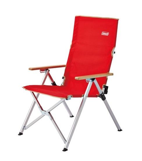 [ Coleman ] LAY躺椅 紅 / 三段式可調整椅背角度 / 公司貨 CM-26744