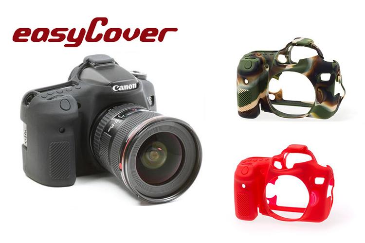 ◎相機專家◎ easyCover 金鐘套 Canon 70D 機身適用 果凍 矽膠 防塵 保護套 公司貨 另有7D