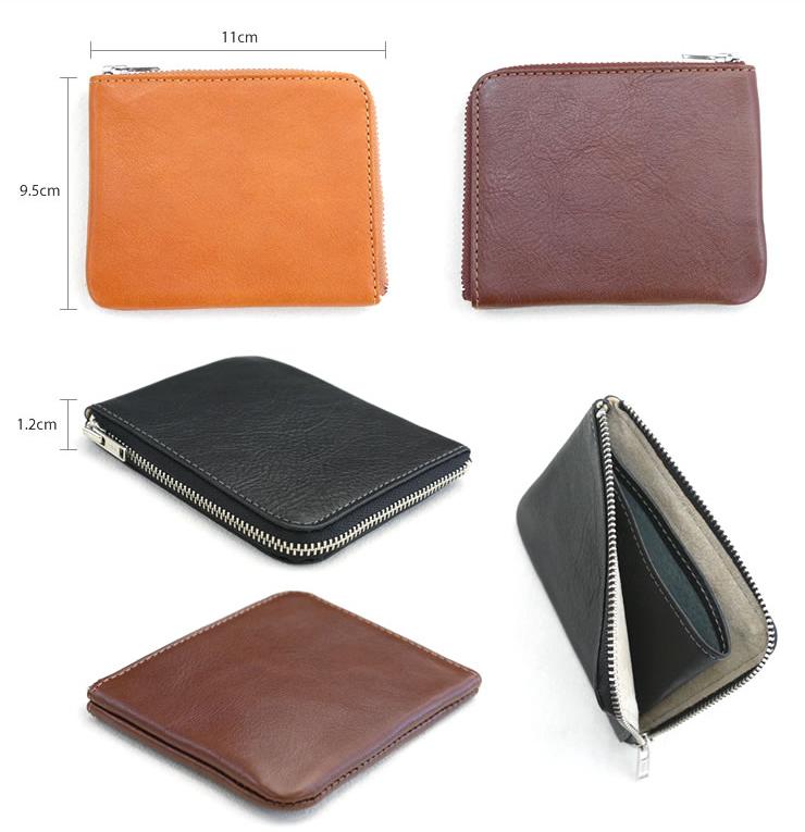 REFINE 零錢包-【尺寸】寬9.5cm・長11cm・厚1.2cm