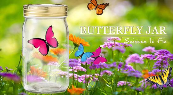 《賽先生科學工廠》仿真蝴蝶罐Butterfly Jar (4色)