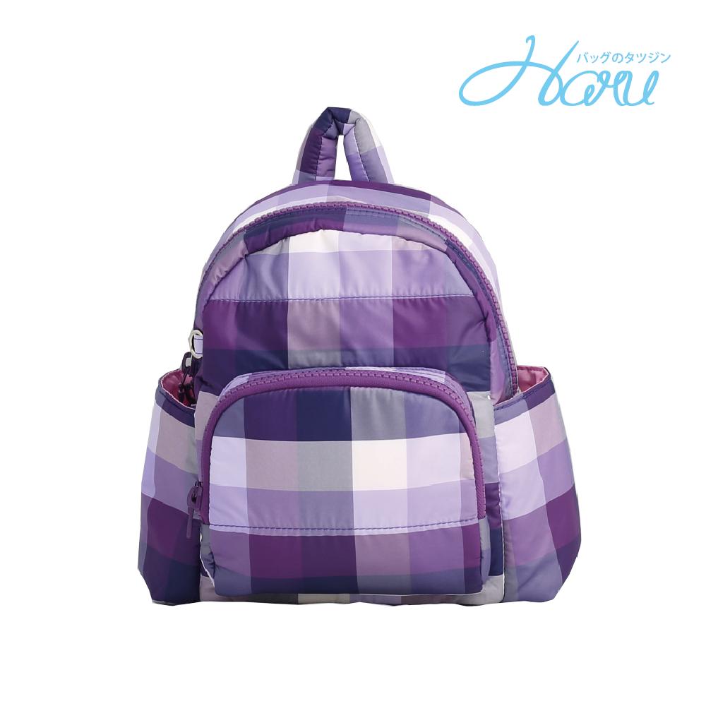 HARU 小晴天本舖媽媽包 日本布料 小童背包【糖果紫】