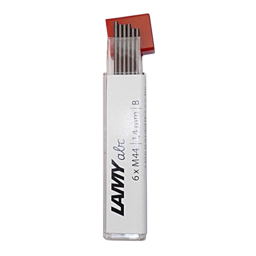 LAMY M44 ABC 楓木系列 1.4mm 旋轉出芯自動鉛筆 專用 筆芯 (6支入 /盒)