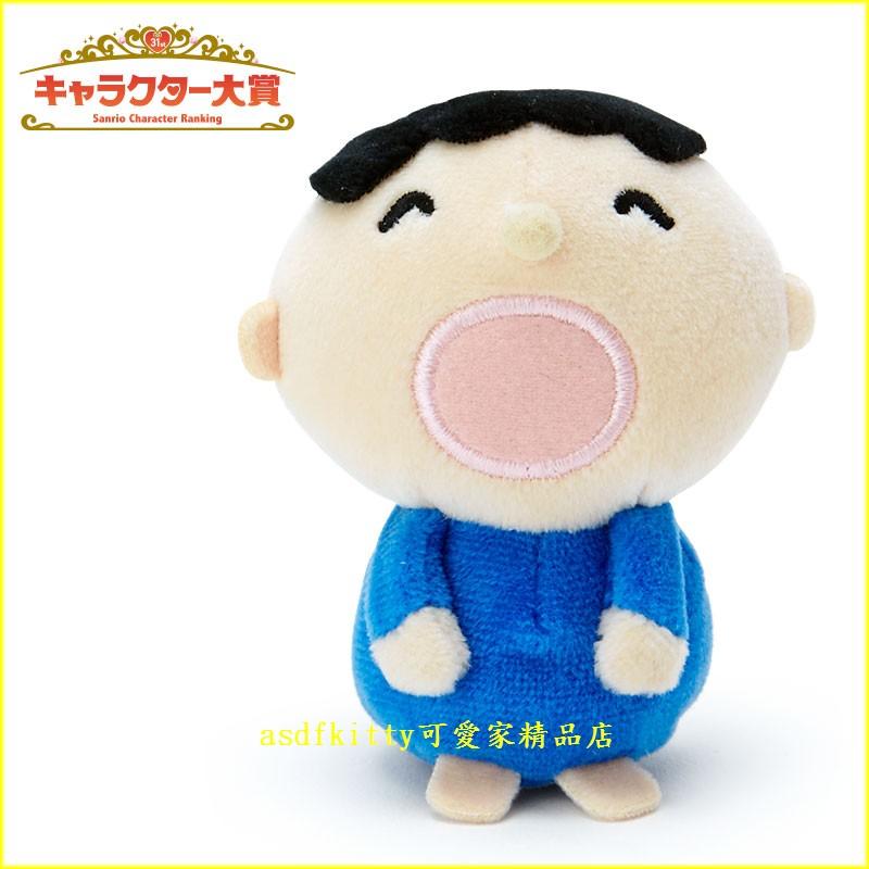 asdfkitty可愛家☆大口仔/大寶可站立小娃娃/短絨毛玩偶-陪您上班上網-紓壓療癒-日本正版商品
