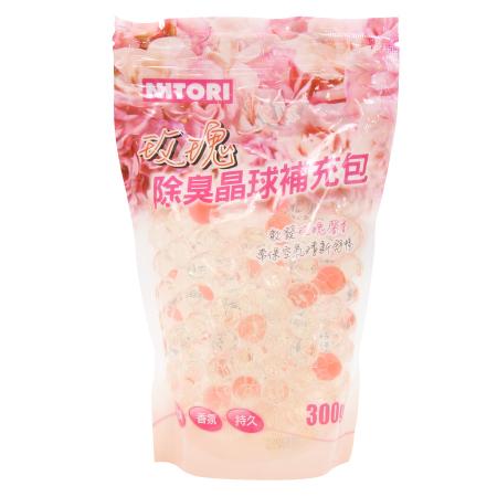 除臭盒補充包 玫瑰 300g F415-4