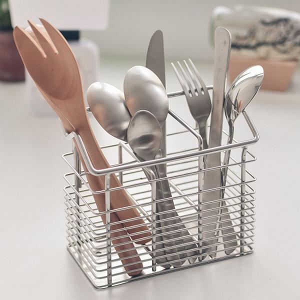 筷籃 廚房收納【D0085-B】加購品-刀叉筷籃 MIT台灣製 完美主義