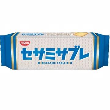 日清芝麻奶油餅(132g)
