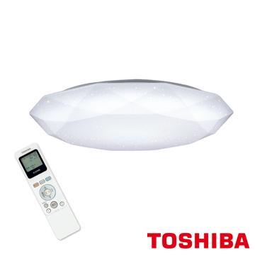 東芝TOSHIBA LED 高演色智慧調光 羅浮宮吸頂燈 星光鑽石版T53R9012-D