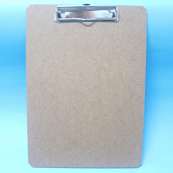 環保正A4木板夾 OF340 鐵人鐵線木板夾(直式.橫式)MIT製/一個入{定50}