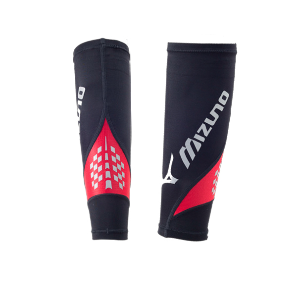 K2MJ6A5096(黑X紅) 日本同步上市 BG8000II BIO GEAR 護小腿 /雙【美津濃MIZUNO】