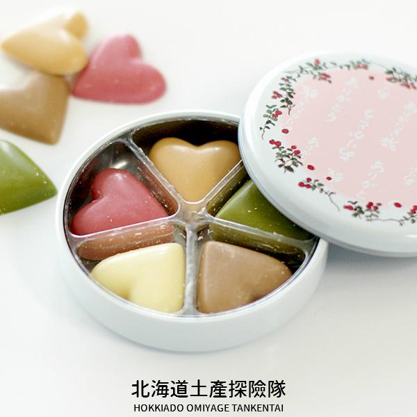 「日本直送美食」[六花亭] 心形巧克力 ~ 北海道土產探險隊~