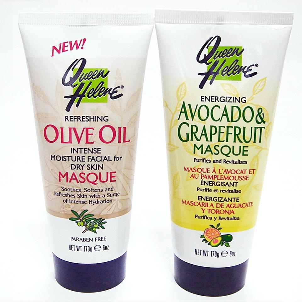 Queen helene橄欖Olive Oil/酪梨&葡萄柚Avocado & Grapefruit面膜 6 oz隨機出貨§異國精品§